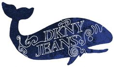 JAMES SOBOL #whale #logo #dkny