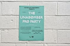 Unabomber Poster | Catalogue