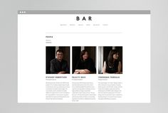 Beck & Robertson (BAR) by Thomas Williams & Co. #website #web #design