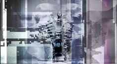 art of meomass x 666 frames #dark #death #art #glitch