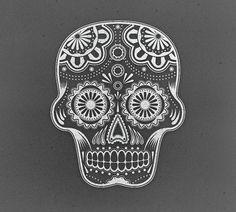 Flyer Design Goodness - A flyer and poster design blog #illustration #skull