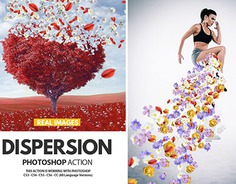 Dispersion Photoshop Effect
