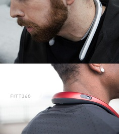 FITT360: Neckband Wearable Camera - IPPINKA FITT360 wears like a backwards necklace around the user's neck, and it's light enough to make you forget it's even there. It's equipped with three cameras to capture all of your surroundings in beautiful quality that's even VR-friendly. If you're not loving the 360 route, you can choose to export it as 2k footage– it's all up to you!