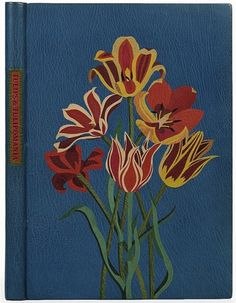 All sizes | Jean Gunner 'Tulips and Tulipomania' (morocco leather) 1982 - USA | Flickr - Photo Sharing! #cover #tulip #book #flower
