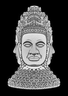 Khmer Graphics #khmer #design #cambodia #art #graphics