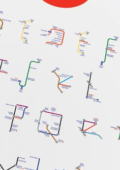 The London Underground Modular Typeface on Behance
