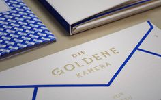 Paperlux: The Golden Camera / on Design Work Life #camera #design #graphic #the #identity #golden #paperlux