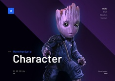 Groot landing page hq