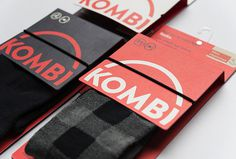 Kombi branding #packaging