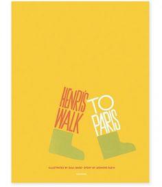 grain edit · Now Available: Saul Bass's Henri's Walk to Paris #movie #poster