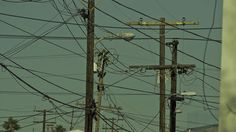 DANNY YOUNT : PHOTOGRAPHS #lines #city #power #electricity #framing