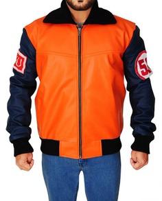 Goku 59 Dragon Ball Z Cosplay Orange Jacket