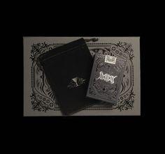 lovely package stranger and stranger christmas playing cards 1 #uv #emboss #spot