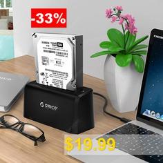 ORICO #6519US3 #USB3.0 #Type-B #2.5 #inch #/ #3.5 #inch #HDD #Dock #- #BLACK