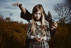 All sizes | Untitled | Flickr - Photo Sharing! #creepy #girl #photography #film #skull