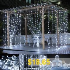 LED #Curtain #Light #3*3 #Meter #304 #Light #Christmas #Ice #Strip #Decoration #Light #Lantern #String #LED #Five-pointed #Star #Curtain #Light #- #AUSTRALIAN #COLOR #3*3 #M #CURTAIN #LIGHT