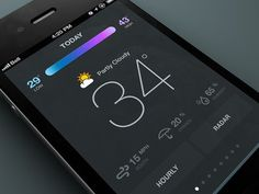 Weather by Rally Interactive #mobile