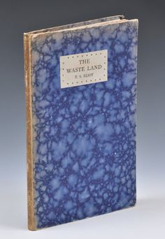 Waste Land #tseliot #vintage #psychedelic #book