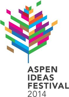 New Logo for Aspen Ideas Festival by Infinia #logo #branding