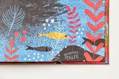 Fine Fine Books: Mariana Ruiz Johnson: Mama #illustration #fish #underwater #book