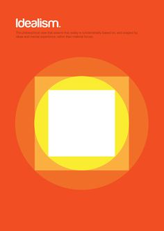 Philographics #graphic design #poster #geometry #philosophy