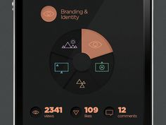 SJQHUB™ Visual Data on Behance