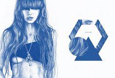 Let there be light, POGO | art & design boutique #pogo #soko #illustration #blue #drawing