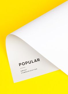 yellow #poster
