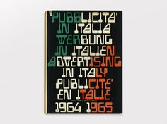 Display | Pubblicita in Italia 1964-1965 | Collection #cover #book