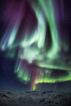 Aurora #space #color #aurora borealis #northern lights