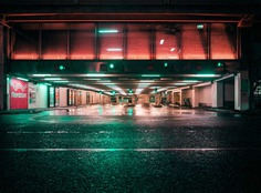 After Dark: Moody Urban and Industrial Landscapes by John Drossos