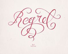 The Jacky Winter Group represents Karl Kwasny #calligraphy #typography