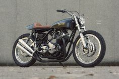 Custom Norton Commando #norton #naughty