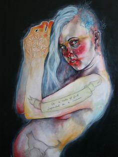 Hemera #krap #artwork #illustration #portrait #stupid #painting #art #fine