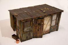 Highly Realistic Miniature Street-14b #miniature #house #art #street