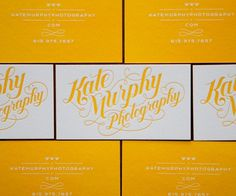 Jessica Hische #card #business #typography