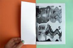 "MAGAZINE DIPLÃ""MES 2011 - Laura Knoops - Graphic design #diplomas #print #roubaix #magazine"