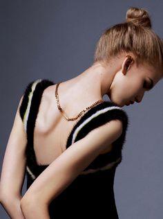 Anna Martynova by Alexandre Tabaste for Stylist Magazine #model #girl #photography #portrait #fashion