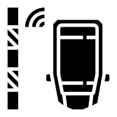 See more icon inspiration related to park, sensor, parking sensor, sensors, intelligence, electronics, radar, parking, security and car on Flaticon.
