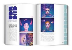 KABOOM / Visual Arts Magazine - Editorial Design #inspiration #creative #visual #kaboom #design #simple #arts #minimal #caselli #anna #editorial #magazine