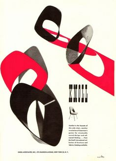All sizes | Knoll Ad 1952 | Flickr - Photo Sharing! #1952 #knoll #ad