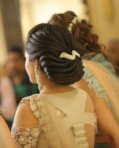 Elegant Swirly Chignon Bun
