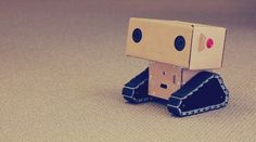 The Craft league (via janks) #tech #low #cardboard #robot