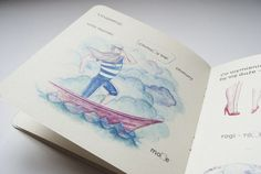 Zaczarowana Walizka #clouds #sailor #book #illustration #sea #ahoy #boat #children