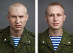 Before And After The Russian Army by Yuriy Chichkov