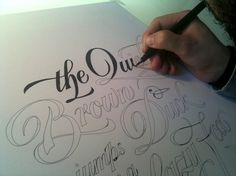 The Quick. #type #lettering #hand #by