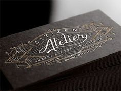 Citizen Atelier by Joe White #card #print #business