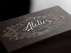 Citizen Atelier by Joe White #card #print #business