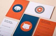 Universal Favourite is proudly showing off their work. #design #identity #animals