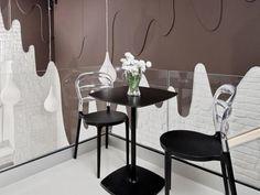 Chocolate Bar by Roma Skuza #interior #caf #design #chocolate #bar #decoration